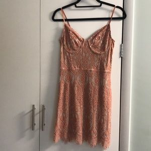 Express Mini lace dress